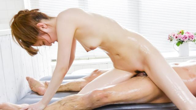 Amazing Japanese blow job withKarin Aizawa - Japanese AV Porn