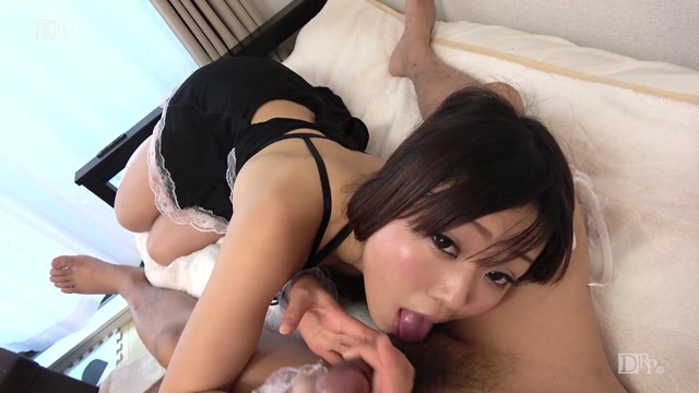 AV Videos 10musume 100917_01 Asahina Minami Cute maid honesty cum inside! Cleaning hard while flicking pants from mini-length etched maid clothes