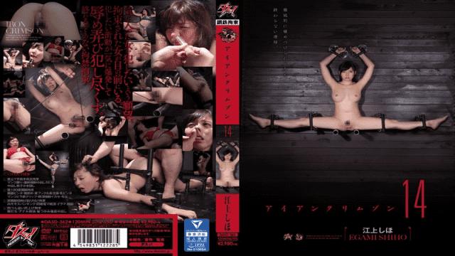 Das DASD-362 Shiho Egami Iron Crimson Vol. 14 - Japanese AV Porn