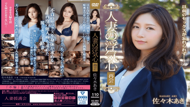CovetingWifeGroup/Emanuel SOAV-028 Aki Sasaki Wife Of Cheating Heart Reunion - Japanese AV Porn