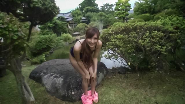 Reira Aisaki naughty play on her young Asian pussy - Japanese AV Porn