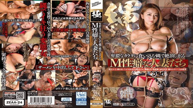 CenterVillage ZEAA-24 Cum Snapping With A Rope That Digs Into An Obscene Body M Habitable Men With Habit - Japanese AV Porn