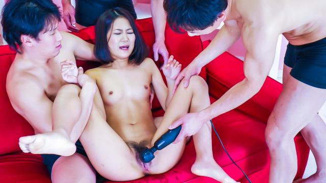 Amazing Japan group sex with naughty Kyoka Sono - Japanese AV Porn