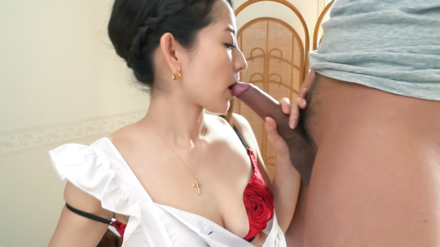 Anna Mihashi fucked and made to provide Asian blowjob  - Japanese AV Porn
