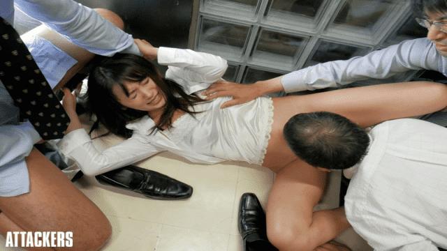Attackers SHKD-738 Saki Kouzai Fucked A Woman Negotiator - Japanese AV Porn