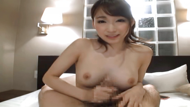 Blowjob and tittyfuck for this sexy babe - Japanese AV Porn