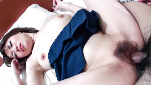 AV Videos Busty, Beautiful Miki Uemura Hairy Pussy Pounded by Cock