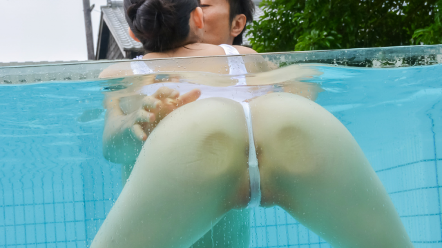AV Videos Japanese creampie pool adventure with Yui Kasugano