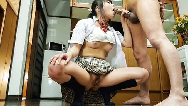 JavHD Haruka Miura Sweet schoolgirl amazes with perfect Japanese blowjob - Japanese AV Porn