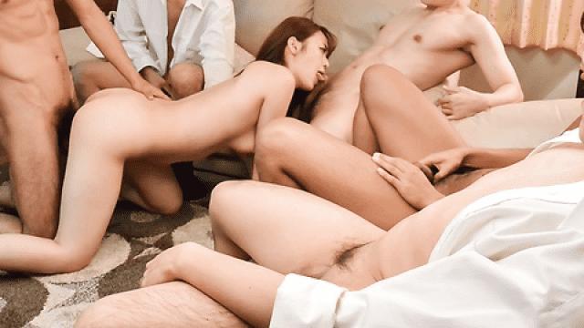 JavHD Eri Hosaka Natural gangbang along steamy - Japanese AV Porn