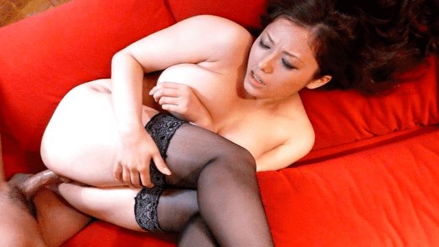 1Pondo 100110_939A Meisa Hanai Bulgarian style SEX  H cup daughter's - Japanese AV Porn