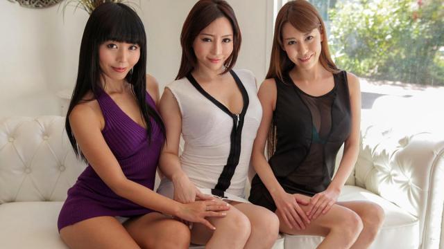 Caribbeancom 050616-154 - Marika, Akari Asagiri, Haruka Aizawa - Asian Group Sex - Japanese AV Porn