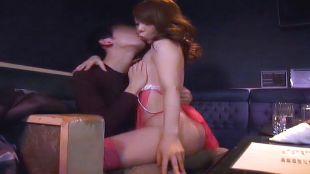 Hot pussy pounding action with a sexy babe - Japanese AV Porn