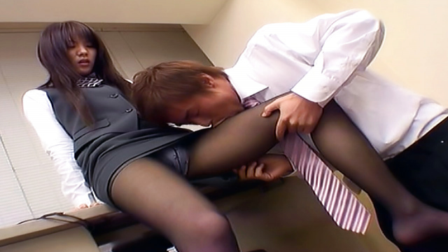 Japanese AV Model gets position 69 and banged in the office - Japanese AV Porn