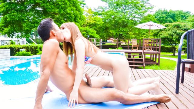 Japanese creampie in outdoor withIroha Suzumura - Japanese AV Porn