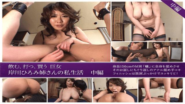 Jukujo-club 6691 Hiromi Kishikawa Private Life Of Hiromi Kishikawa  Part2 Jukujo Club - Japanese AV Porn