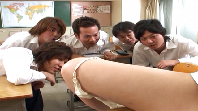 Jun Harada Japanese teacher enjoys after school masturbation - Japanese AV Porn