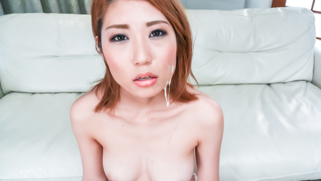 Kanako Kimura opens up her mouth for an asian blowjob threesome - Japanese AV Porn