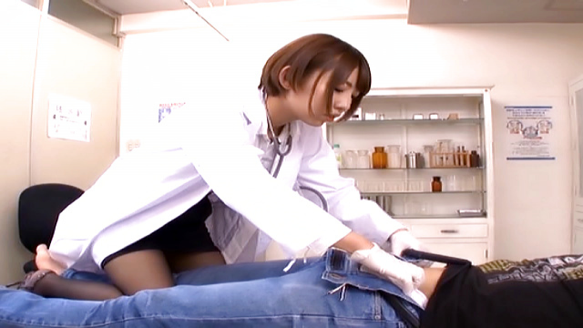 Lovely babe Otoha Nanase  gets cum on face - Japanese AV Porn