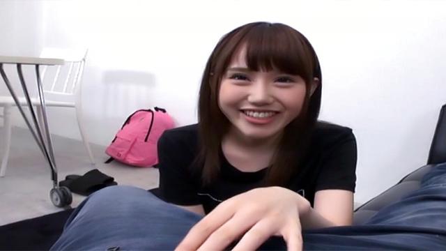 AV Videos Mindblowing head skills done by Ebina Rina