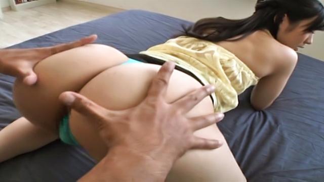 AV Videos Misato Yosgiura Asian brunette babe performs a rodeo on hard thick dick