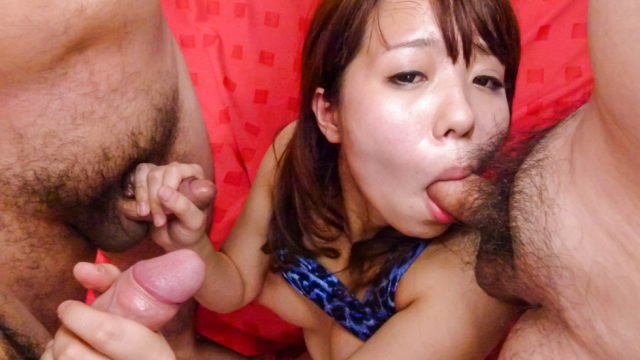 Miyu Kaburagi gives hot Japan blowjob on cam  - Japanese AV Porn