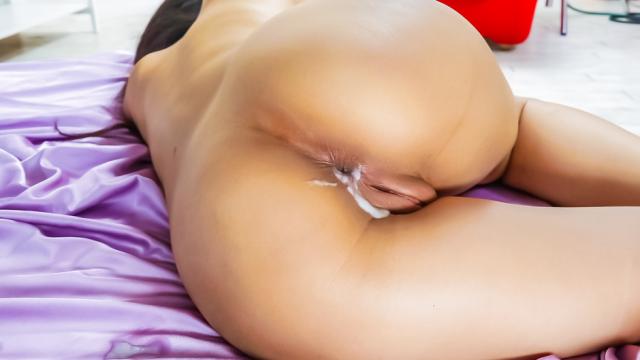 AV Videos Ren Azumi has asian anal sex in a DP threesome
