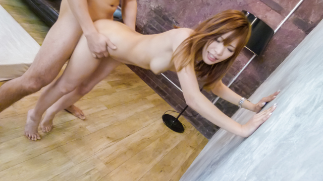 AV Videos Yuika Akimoto takes on two for an asian creampie